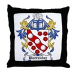 Warrender Coat of Arms Throw Pillow