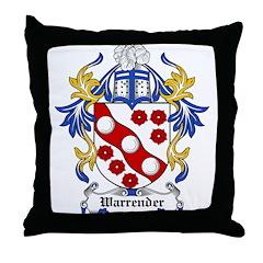 Warrender Coat of Arms Throw Pillow