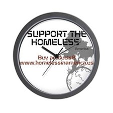 HIA HomelessInAmerica design Wall Clock