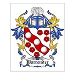 Warrender Coat of Arms Small Poster