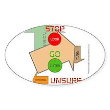HIA Stop Go design Decal