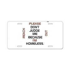 HIA Reach Out design Aluminum License Plate