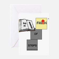 HIA Homeless Faith design Greeting Card