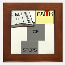 HIA Homeless Faith design Framed Tile