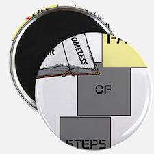 """HIA Homeless Faith design 2.25"""" Magnet (100 pack)"""