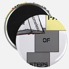"""HIA Homeless Faith design 2.25"""" Magnet (10 pack)"""