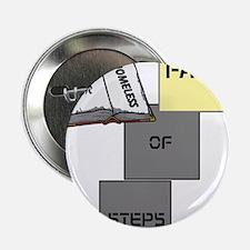 """HIA Homeless Faith design 2.25"""" Button (100 pack)"""