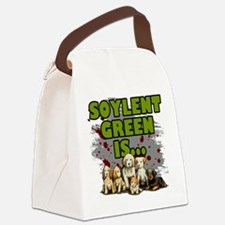 Soylent Green Is Puppies Canvas Lunch Bag