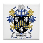 Warrand Coat of Arms Tile Coaster