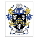 Warrand Coat of Arms Small Poster