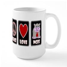 Peace Love NCIS Mug