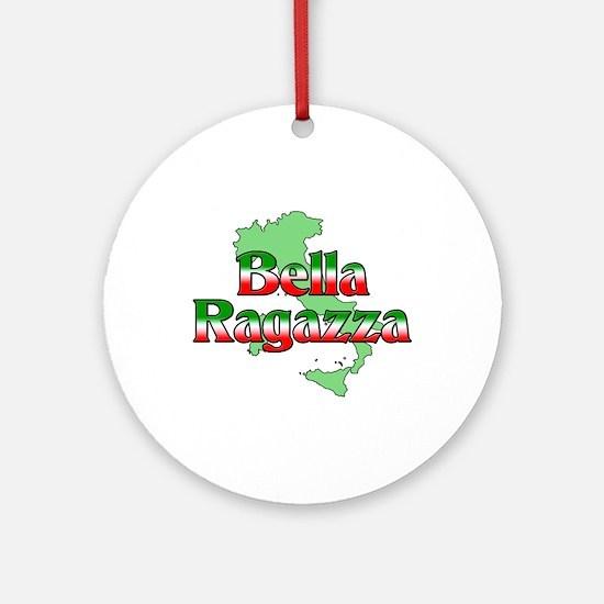 Bella Ragazza Ornament (Round)