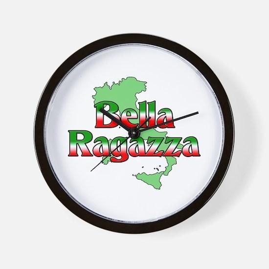 Bella Ragazza Wall Clock