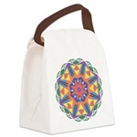 A Colorful Star Canvas Lunch Bag