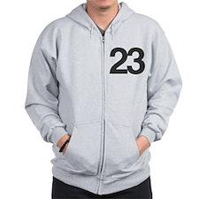 23 Zip Hoodie