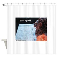 Map Reading Foo Shower Curtain