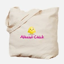 Atheist Chick Tote Bag