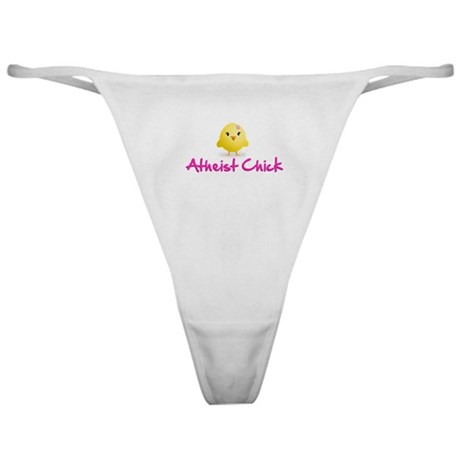 Atheist Chick Classic Thong