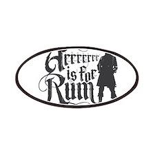 Arrrrrrr is for Rum Patches