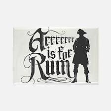Arrrrrrr is for Rum Rectangle Magnet