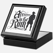 Arrrrrrr is for Rum Keepsake Box