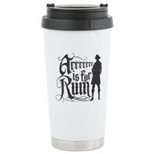 Arrrrrrr is for Rum Travel Mug