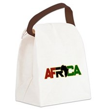 Africa2 Canvas Lunch Bag