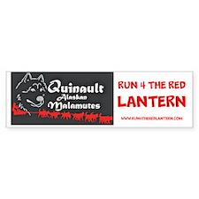 Quinault Run 4 The Red Bumper Bumper Sticker