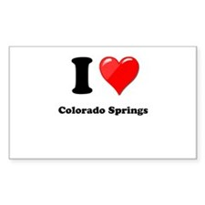 I Heart Love Colorado Springs.png Decal