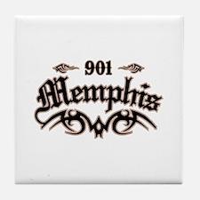 Memphis 901 Tile Coaster