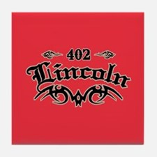 Lincoln 402 Tile Coaster