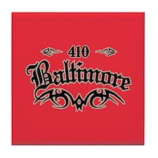 Baltimore 410 Tile Coaster