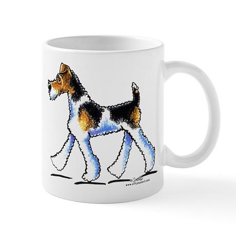 Wire Fox Terrier Trot Mug