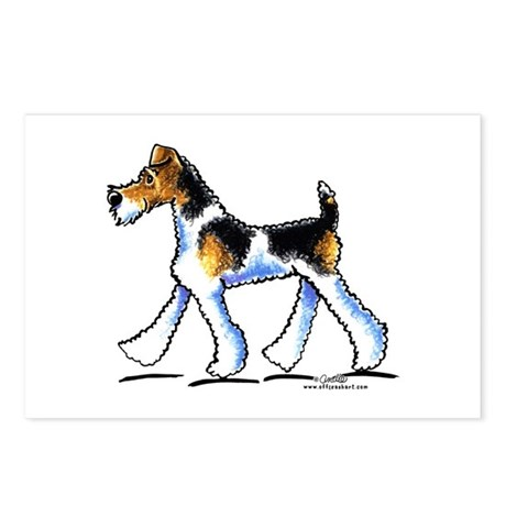 Wire Fox Terrier Trot Postcards (Package of 8)