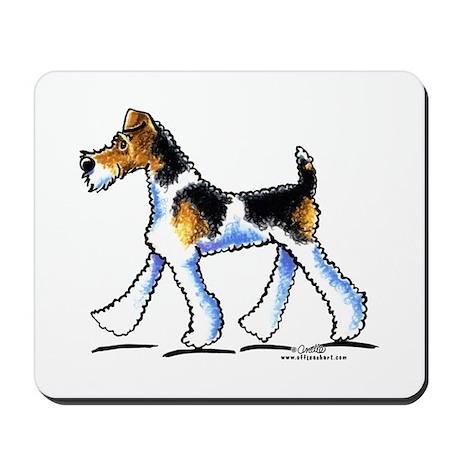 Wire Fox Terrier Trot Mousepad