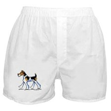 Wire Fox Terrier Trot Boxer Shorts