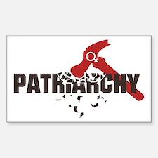 Smash Patriarchy Decal