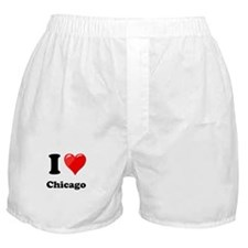 I Heart Love Chicago.png Boxer Shorts