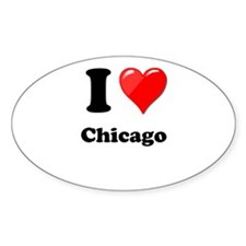 I Heart Love Chicago.png Decal