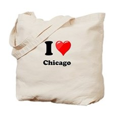 I Heart Love Chicago.png Tote Bag