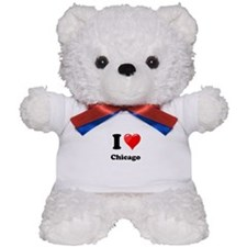 I Heart Love Chicago.png Teddy Bear