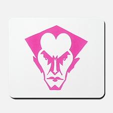 Bat Logo (pink) Mousepad