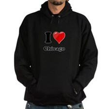 I Heart Love Chicago.png Hoodie