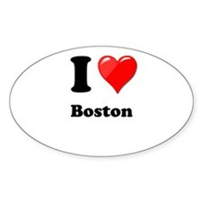 I Heart Love Boston.png Decal