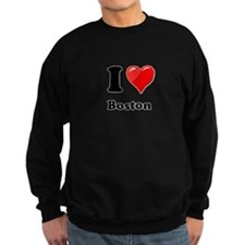 I Heart Love Boston.png Sweatshirt