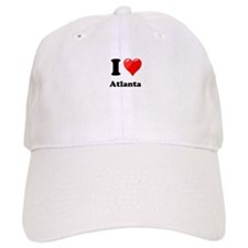I Heart Love Atlanta.png Baseball Cap