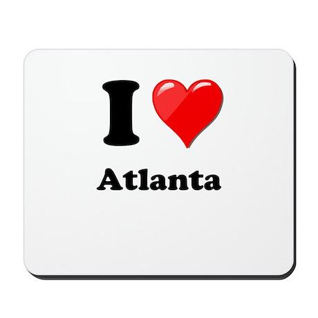 I Heart Love Atlanta.png Mousepad
