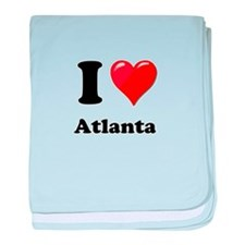 I Heart Love Atlanta.png baby blanket