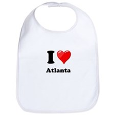 I Heart Love Atlanta.png Bib