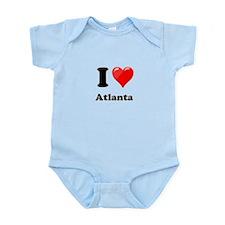 I Heart Love Atlanta.png Infant Bodysuit
